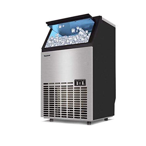 YANGLOU-Eiswürfelmaschine- Gewerbliche Eismaschine aus Edelstahl / freistehender automatischer Eismaschine für Restaurant Bar Cafe, Produkte 176LBs Daily-w / Scoop, Timer & Auto CleanProduct Code: ZBJ