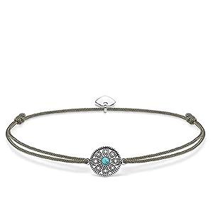 Thomas Sabo Damen Armband Little Secret Ethno 925 Sterling Silber LS022-378-5-L20v