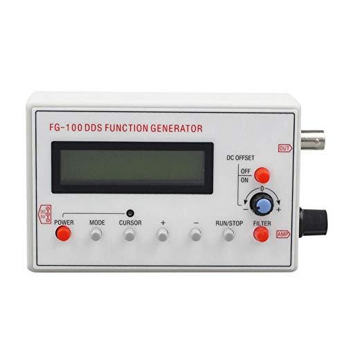 EZIZB Frequenzgenerator Digital Kanal DDS Funktion Signal Generator 1HZ-500KHz Frequenzmesser Funktionsgeber Funktionsgenerator Von Sinus/Dreieck/Quadrat/Sägezahn