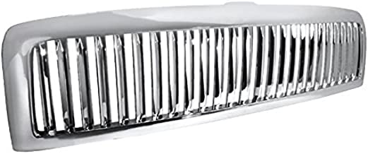 Spec-D Tuning HG-RAM94CVT Dodge Ram St Slt 1500 Chrome Vertical Front Grill Grille