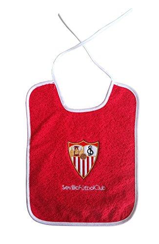 Sevilla CF Babsev Babero, Rojo/Blanco, Talla Única