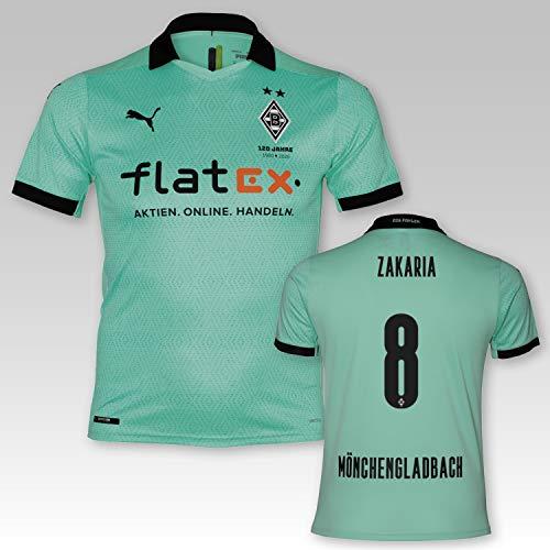 PUMA BMG Borussia Mönchengladbach Third Trikot Erwachsene 2020/21, Größe:XL, Spielername:Zakaria