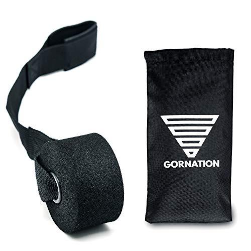 GORNATION® Premium Türanker mit einem extra starken Nylonkern für Lange Lebensdauer - Besonders Dicke Schaumstoff-Schicht zum Schutz der Türen - Ideal zur Befestigung der Fitness-Bänder, Turn-Ringe