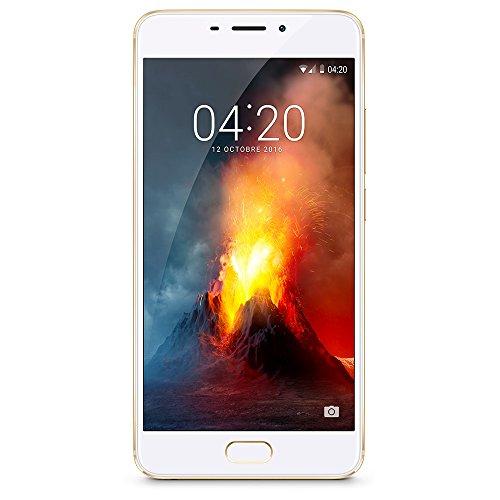 Meizu M5 Note - Smartphone de 5.5' (Octa-Core A53 1.8 GHz, Memoria Interna de 16 GB, 3 GB de RAM, HD 720p), Dorado/Blanco