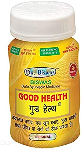 Dr Biswas Weight Gainer Heal Protect Liver Energy Immunity Booster Capsule 50 Pack of 1