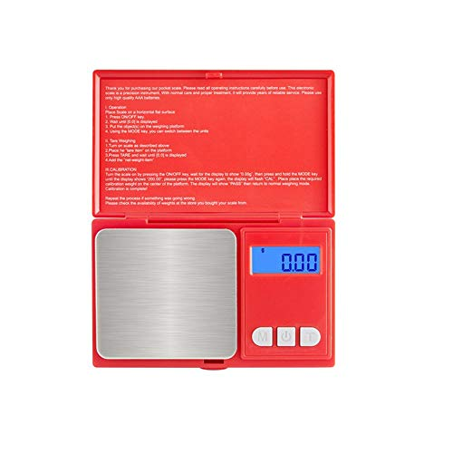 500G / 0.01G High Precision Digitale Weegschaal LCD-Scherm Pocket Scale Gram Gewicht Voor Kitchen Jewelry Drug