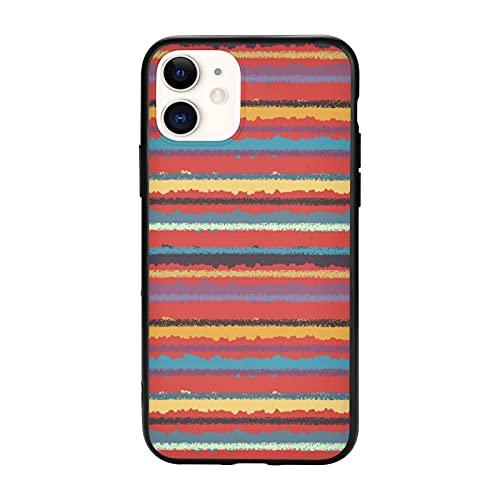 Cassa Del Telefono Per Le Donne Uomini Protettiva Sottile Tpu Cover Per Iphone Caso Tie Dye Autunno Rosso