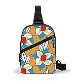 Dibujo Azulejo Italiano Unisex Sling Bag Bolso Pecho Messenger Bag
