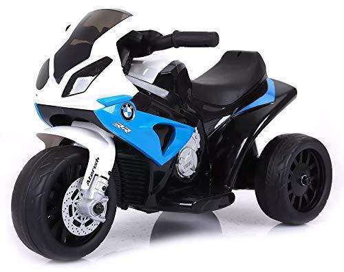 giordano shop Moto Motocicletta Elettrica per Bambini 6V BMW Blu