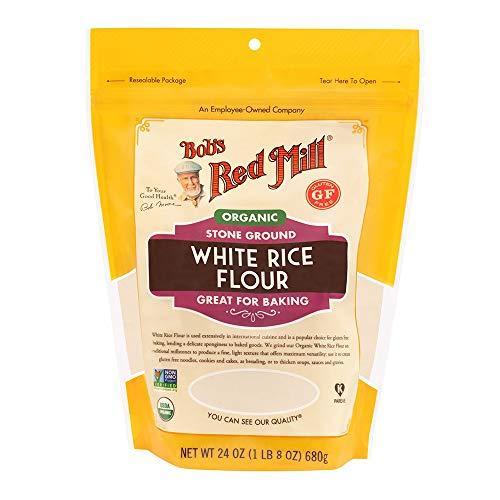 Bob's Red Mill Organic White Rice Flour, 24 Ounce