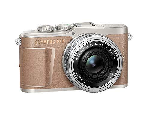 Olympus E-PL10 Mocha Brown Camera Body with Black M.Zuiko Digital 14-42mm F3.5-5.6 EZ Lens