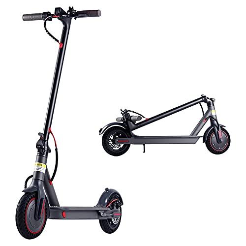 Mejorar patinete eléctrico para adulto, 350 W, plegable, patinete eléctrico de 40 a 45 km, autonomía de 3 niveles de velocidad, aplicación de control rápido, portátil, navegación, Urban Glide