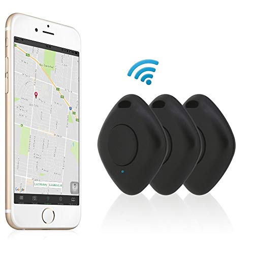 SHILIU 4.0 Smart Finder Bidireccional Anti perdida Dispositivo de Alarma GPS Inteligente Mascota Mascota Rastreador Localizador Monedero Rastreador de Llaves