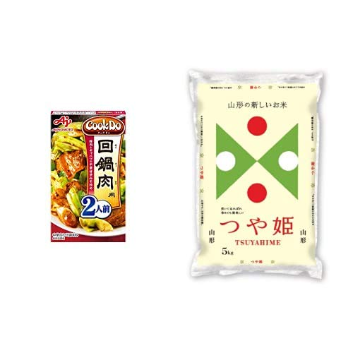 味の素 Cook Do 回鍋肉用 50g×10個 +  【精米】山形県産 白米 つや姫 5kg 令和元年産