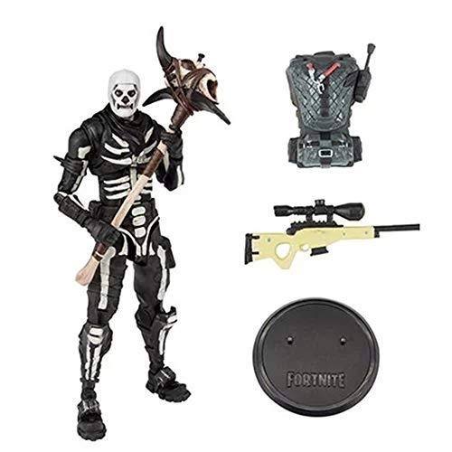 XUEKUN 17CM Esqueleto Caballería Figura De Acción De Las Decoraciones Modelo Animado Estatua De La Escultura De Marionetas Recuerdo Juguetes para El Regalo Skeleton Cavalry