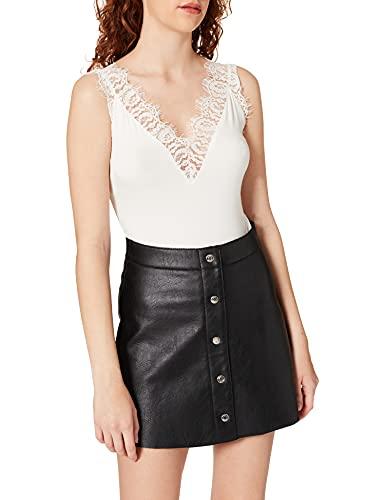 Morgan TSHIRT211-DENYSA Camiseta, Crudo, XS para Mujer