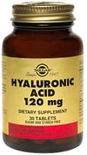Solgar. Hyaluronic Acid 120mg - 30 T. 6 Pack