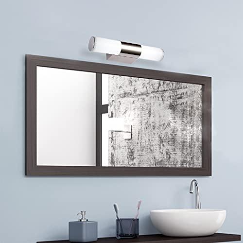 BAGZY LED Luce dello specchio Bagno 6W 25 cm Illuminazione Frontale per il Trucco Lampada da Specchio 6000K Bianco Freddo Impermeabile per il Bagno Armadietto a Specchio da Parete Vanità Specchio