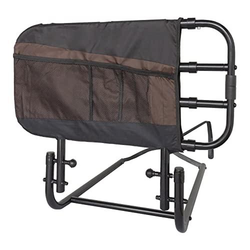 Stander EZ Adjust Bed Rail, Adjustable Senior Bed Rail and Bed Assist...