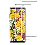 XSWO Cristal Templado Samsung Note 8 [2 Unidades], Protector de Pantalla Samsung Galaxy Note 8, [3D...