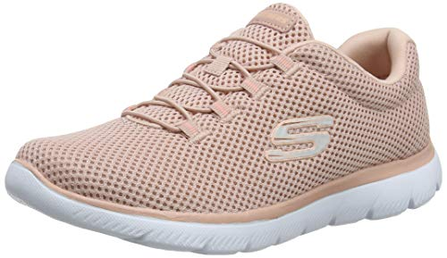 Skechers Women's Summits Trainers, Pink (Rose Ros), 5 UK