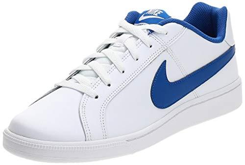 Nike Court Royale, Scarpe da Ginnastica Uomo, Bianco (White/Game Royal), 45 EU