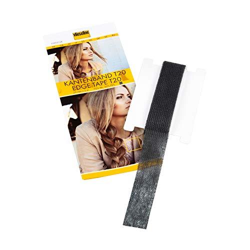 Vlieseline Kantenband T20 SB 5m x 2cm, 70% PA, 30% PES, Grafit, 20 mm x 5 m