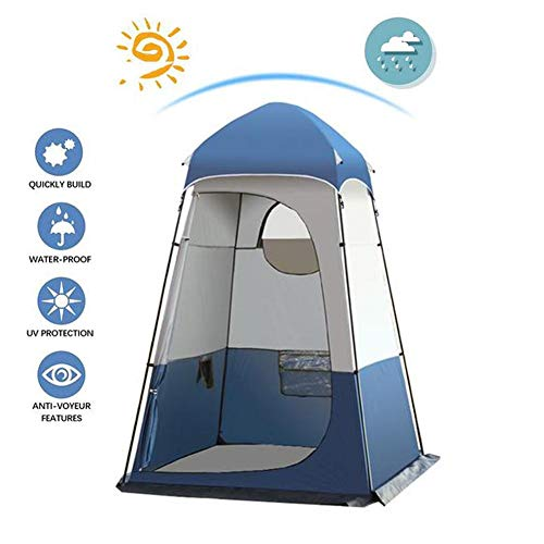 N/Y Ultra Large Outdoor Privacy Tent,Portable Shower Tent Camping Toilet Tent Beach Changing Shelter Canopy,160 160 240CM,Can Hang 20L Shower Bag,with Floor Mat