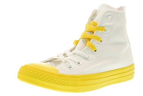 CONVERSE zapatos zapatillas de deporte unisex de alta 156764C CTAS HI talla 36.5 Color blanco