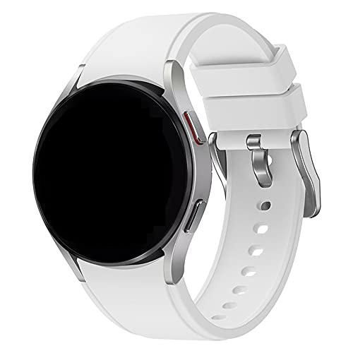 Kompatibel mit Samsung Galaxy Watch4 Armbändern, Silikon-Armband für Samsung Galaxy Watch 4 (40mm/44mm) & Galaxy Watch 4 Classic (42mm/46mm) Smart Watch,