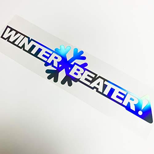 55cm Winter Beater Aufkleber New Holo Sticker Car Decal Winterkarre Autoaufkleber Winterschlampe Eiskratzer Schneeschieber Automotive Wintersaison
