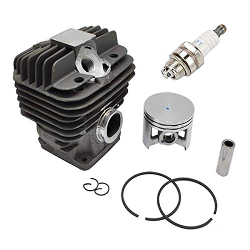 Notos 50mm Cylinder Piston Kit with Spark Plug Fit for Stihl 044 MS440 MS 440 Replace 1128-020-1201 1128-020-1227 Chainsaw