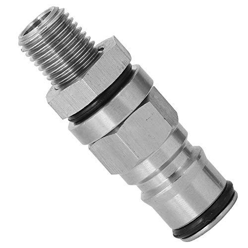 Changor Light Keg Posts Parts, Service Life 304 Material de Acero Inoxidable Resistencia a la corrosión (Plata)