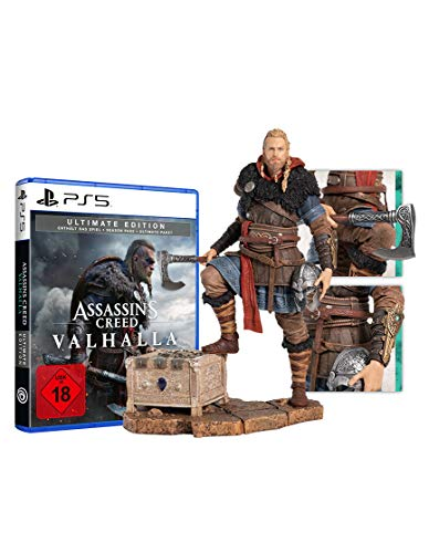 Assassin's Creed Valhalla Ultimate Edition + Eivor Figur - [PlayStation 5]