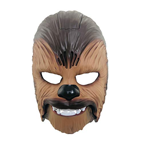yacn Chewbacca Mask Star Wars Force Awakens Men's Electronic Sound Mask Toys Costume for Adult