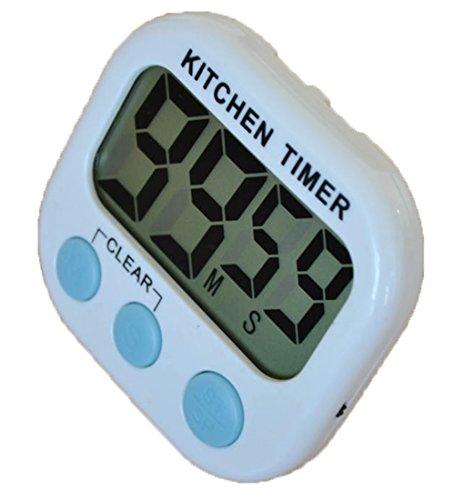 lightsgoal numerico di casa e di cottura timer magnetica Backing Timer Forte con supporto Retractable grande schermo LCD numerico blu