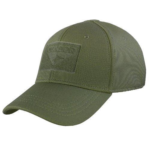 Condor Outdoor Flex-Fit Tactical Cap OD Green L/XL