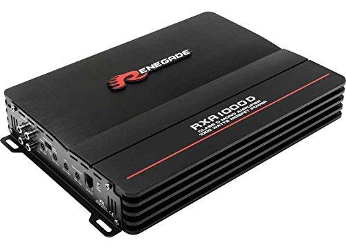 Renegade rXA 1000d Amplificateur pour Voiture – Amplificateurs pour voiture (Noir, 22 – 160 HZ, d)