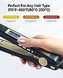 Zoom IMG-2 piastra per capelli professionale con
