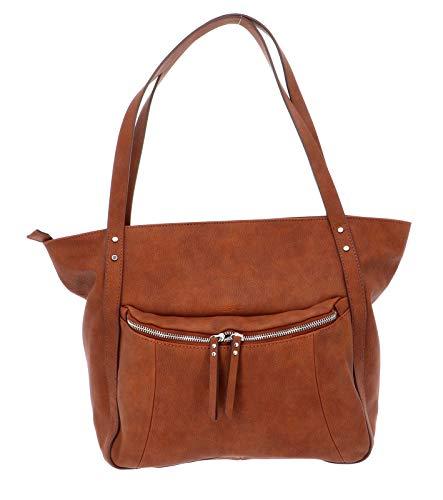 ESPRIT Damen Shopper Naila braun One Size