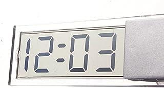 ساعة صغيرة شاشة LCD رقمية لزجاج السيارة من Generic Suction Cup