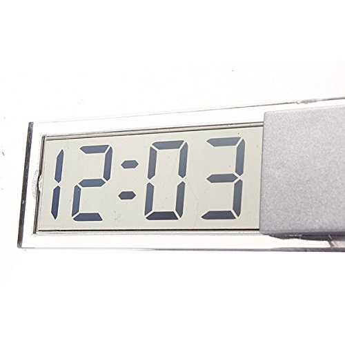 YONGYAO Ventouse Voiture Tableau De Bord Windscreedn Digital LCD Display Mini Horloge