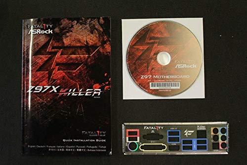 ASRock Fatality Z97X Killer Handbuch - Blende - Treiber CD