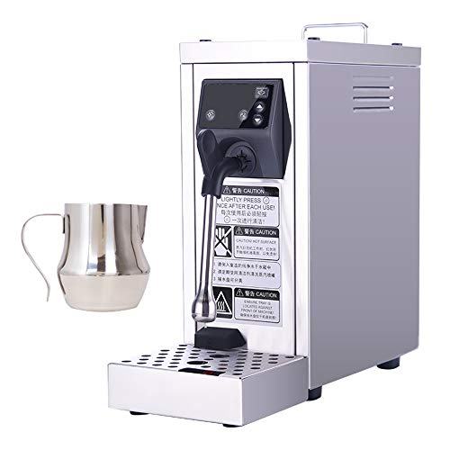 Hanchen Milk Steamer Commercial Milk Frother Automatic Electric Coffee Frothing Machine Steam Milk Bubble Machine