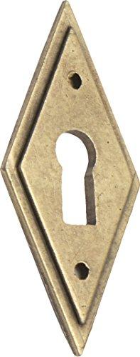 25 x 65 mm Imex El Zorro B-73965 El Zorro B-73965-Aldabilla 90 mm Placa