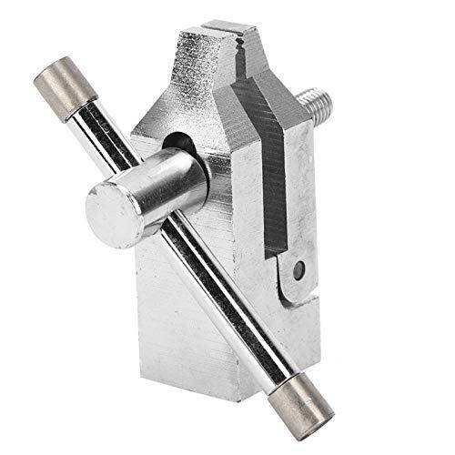 Herramienta de Fuerza de Empuje y tracción de Acero Inoxidable Abrazadera de medidor de Empuje Alta dureza Mano de Obra Fina Profesional 500N Durable para probador de tracción 10 mm