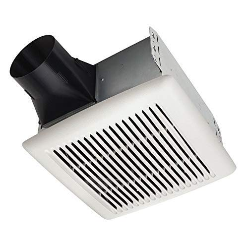 Broan-NuTone AE80B Invent Energy Star Qualified Single-Speed Ventilation Fan, 80 CFM 1.5 Sones, White