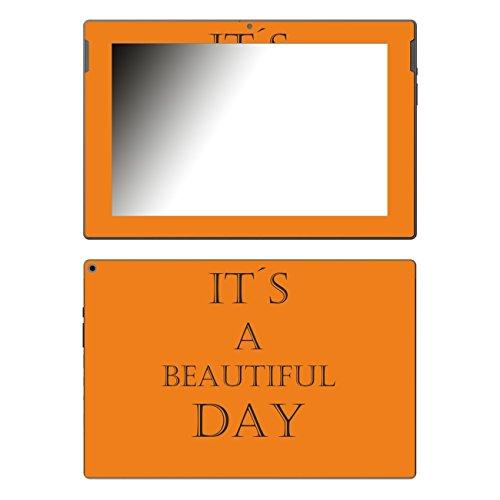 Disagu Design Skin für Medion Lifetab P10341 (MD99233) Design Folie - Motiv IT´S A Beautiful Day