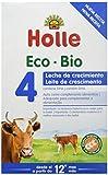 HOLLE Leche DE CONTINUACION 4 (+12 Meses) 600g, Negro, Mediano