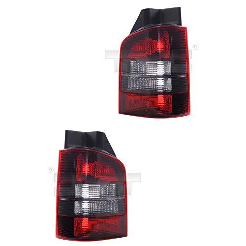 Heckleuchten Rückleuchten Rücklicht Set rechts & links Satz für Modell Transporter/Multivan T5 (7E/7F/7J/7H) Baujahr: 04/2003->> Kunststoff ohne Lampenträger